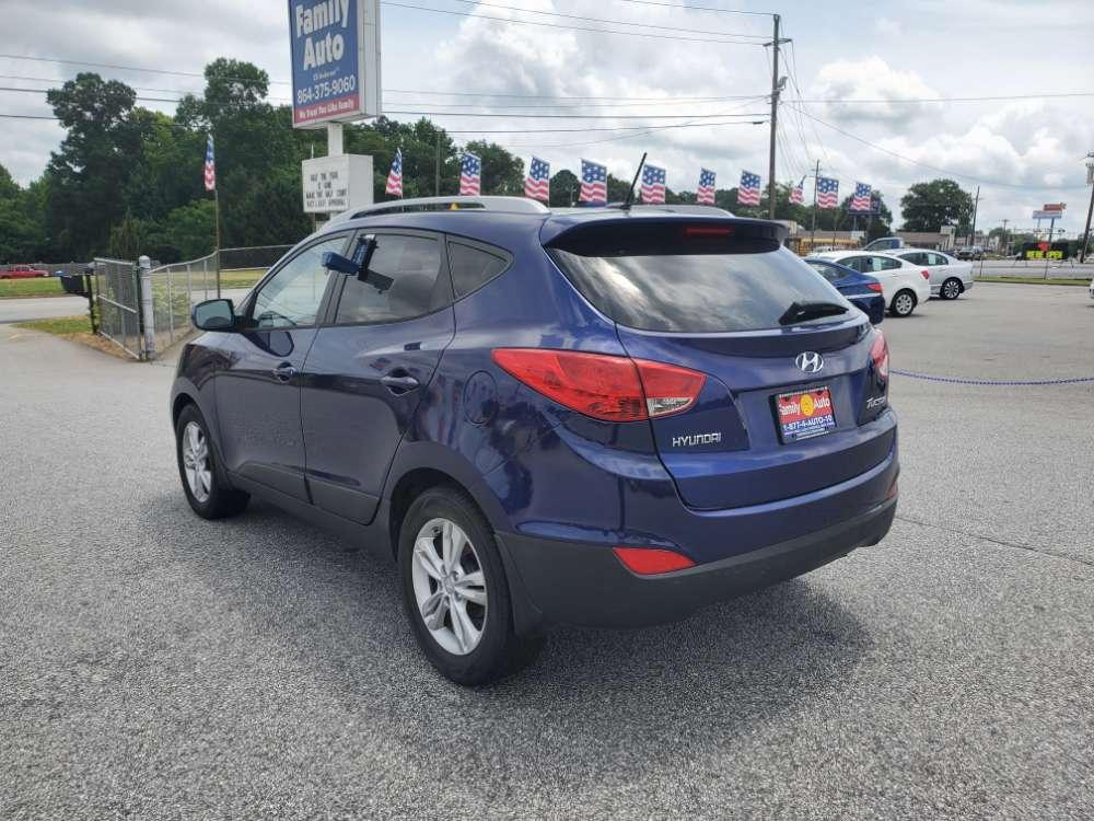 Hyundai Tucson 2010 Blue