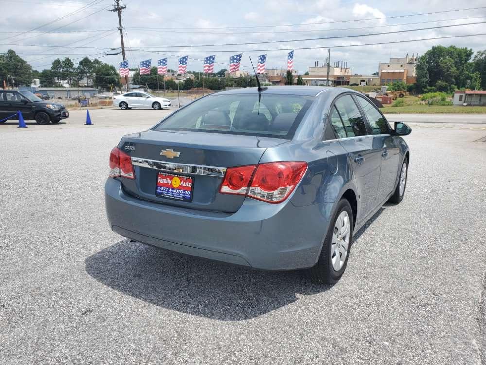 Chevrolet Cruze 2012 Turquoise