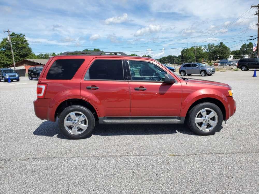 Ford Escape 2012 Red