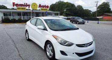 Hyundai Elantra 2013 White