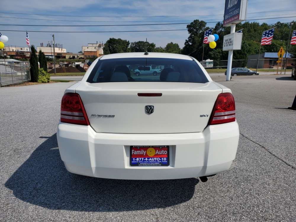 Dodge Avenger 2008 White