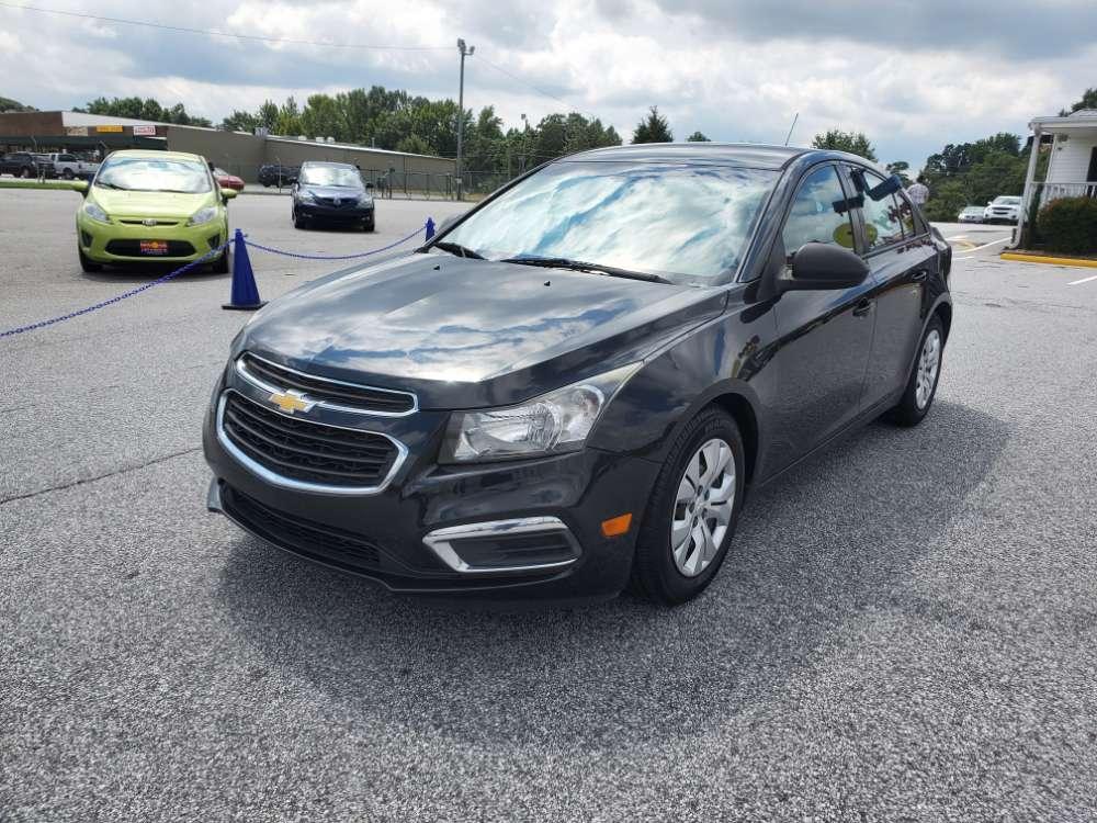 Chevrolet Cruze 2015 Black