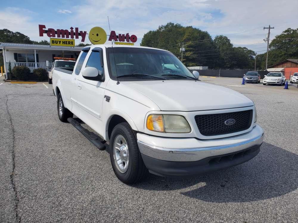 Ford F-150 2002 White