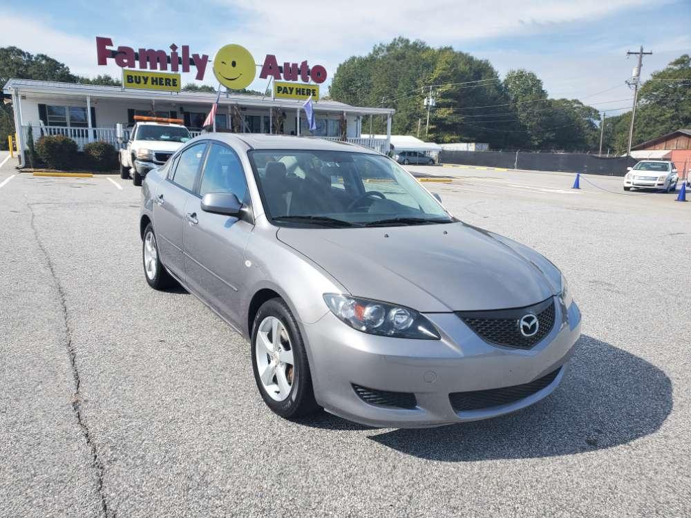 Mazda 3 2006 Gray