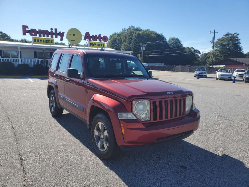 Jeep Liberty 2008 Red